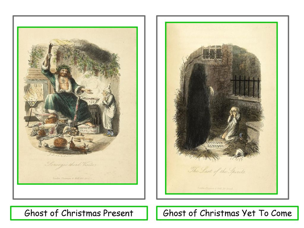 EAL Nexus Resource A Christmas Carol Characters Picture