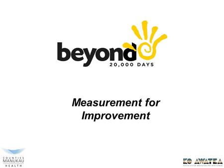 Advanced Improvement Practitioner Programme Measurement