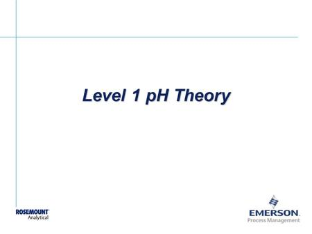 GF Piping Systems pH Installation & Maintenance. GF Piping