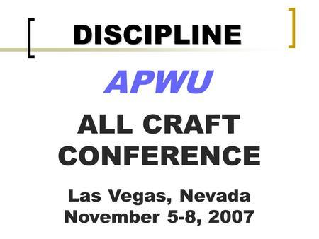 03/24/03 ARTICLE 16 DISCIPLINE PROCEDURE ppt video online