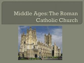 Explain how the Church shaped medieval life Understand monastic life and the influence of medieval monks and nuns Analyze how the power of the Church ppt download