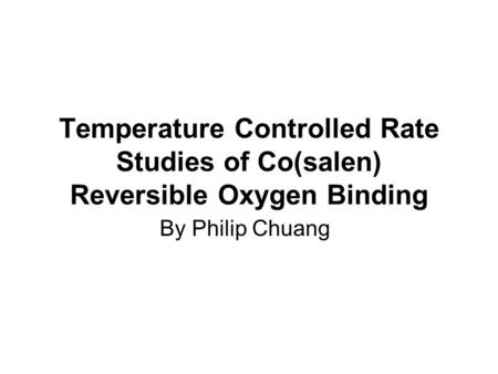 The Kinetic Study of Oxidation Reactions of (TDFPP)FeIVO