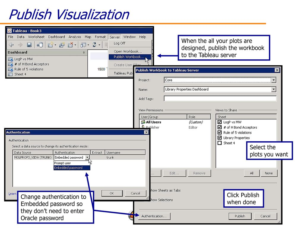 Tableau Worksheet Or Workbook