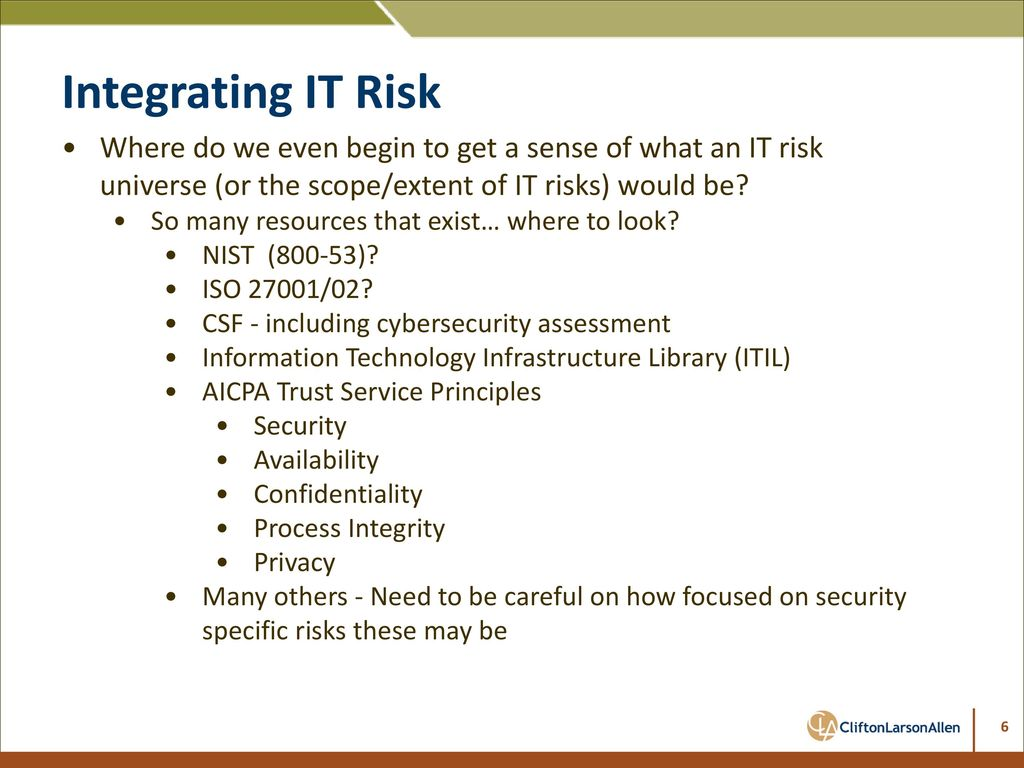 It Risks Security