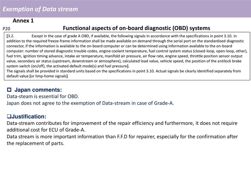 ignition switch and obd live data jet pump diagram japans proposal for eppr ppt video online download