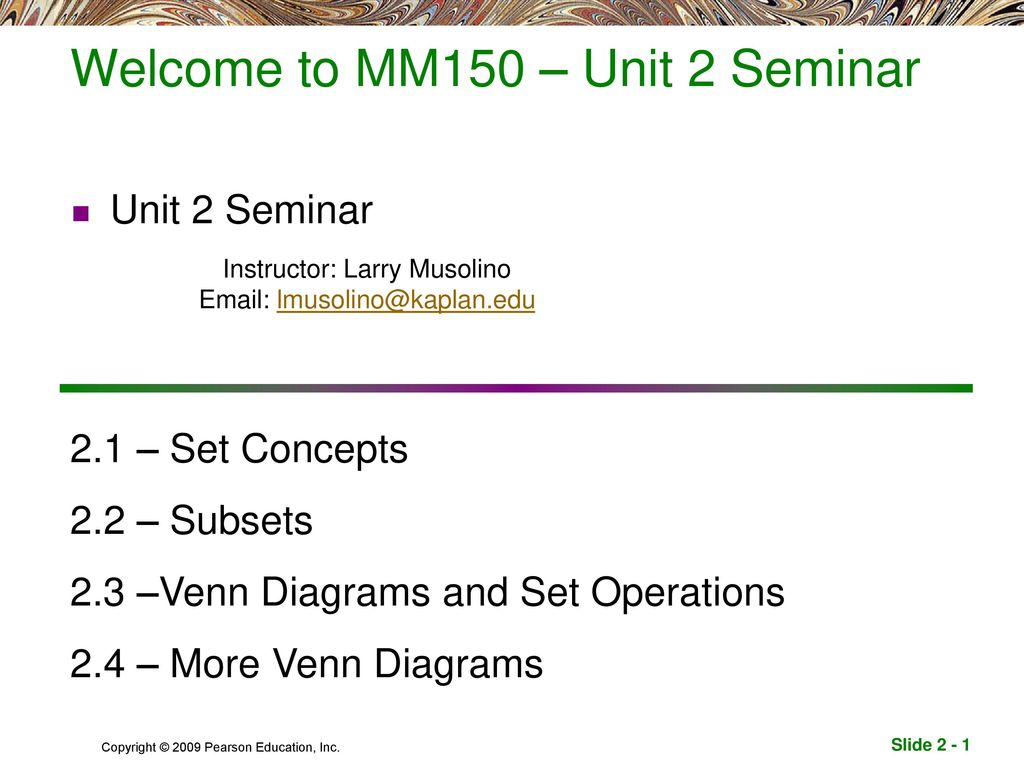sets subsets and venn diagrams seymour duncan wiring for strat welcome to mm150  unit 2 seminar ppt download