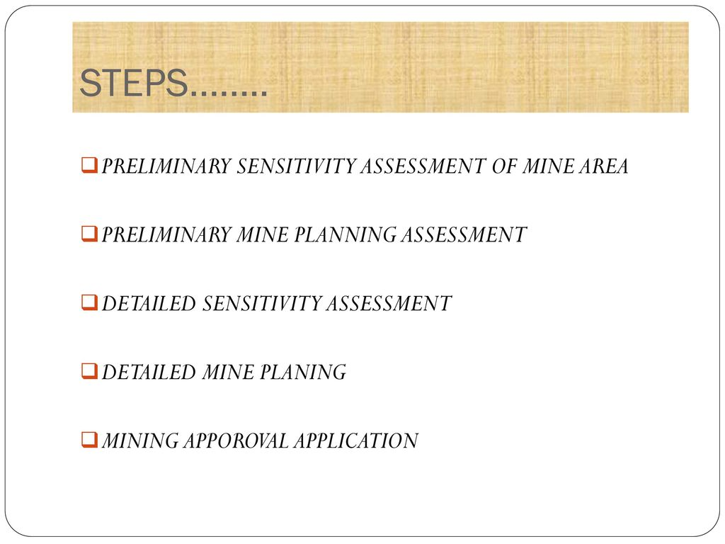 Mine Planning And Design