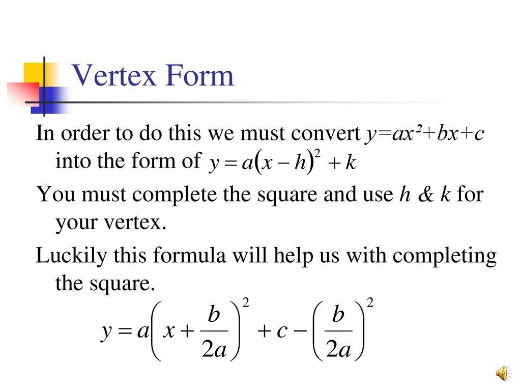 Graphing Linear Amp Quadratic Equations
