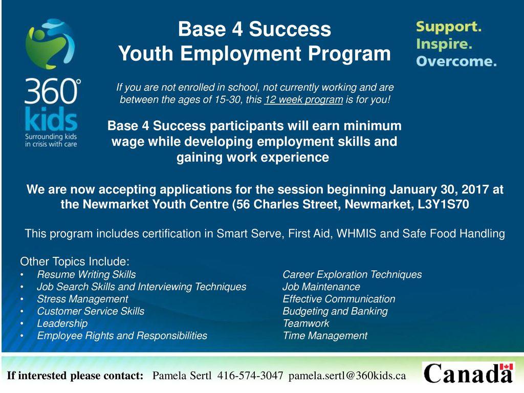 Youth Employment Program