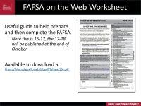 Worksheets. Fafsa On The Web Worksheet. waytoohuman Free ...
