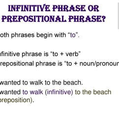 Sentence With Prepositional Phrase Diagram Sorting 3d Shapes Venn Infinitive Worksheets For High School