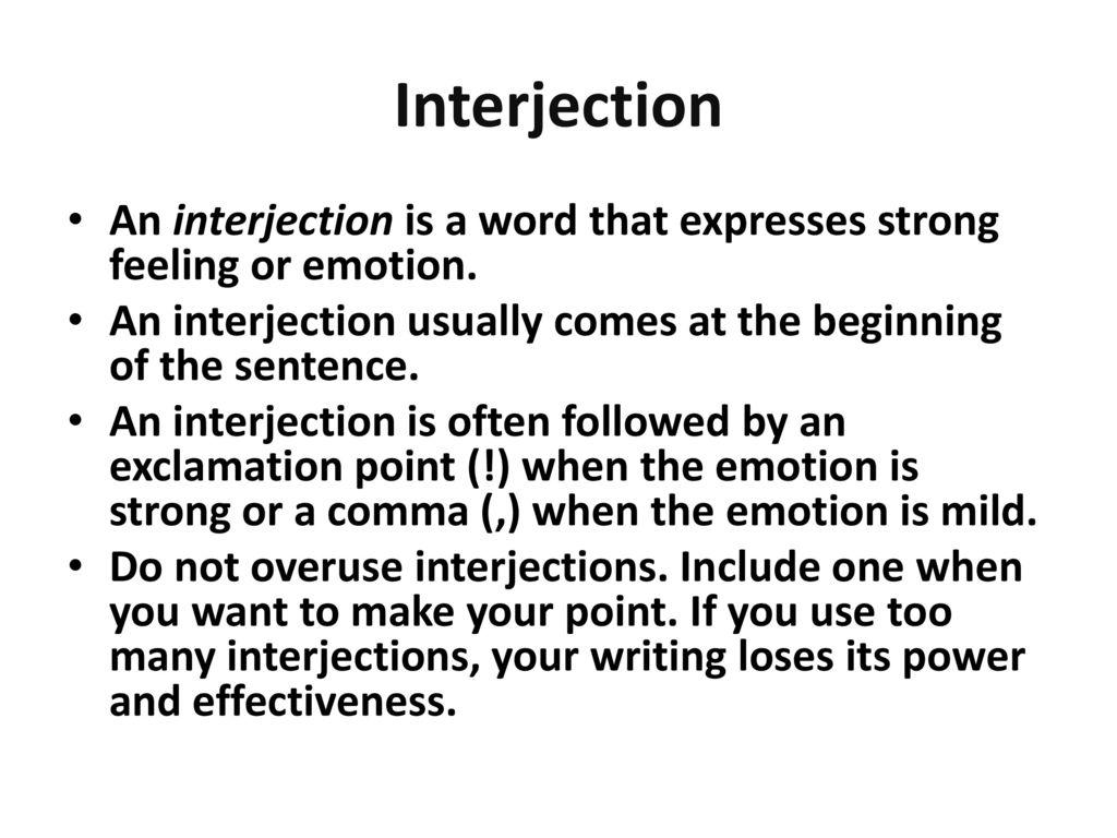 Grammar Parts Of Speech
