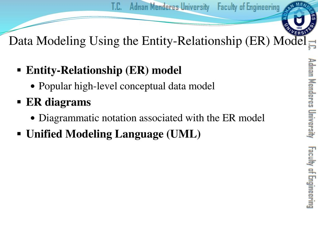 data model entity relationship diagram 2002 jeep wrangler ignition switch wiring cse202 database management systems ppt download