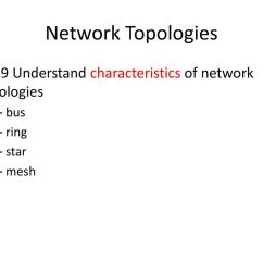 Advantages And Disadvantages Of Star Topology Diagram 98 Jeep Wrangler Radio Wiring Network Basics Networks  Ppt Download