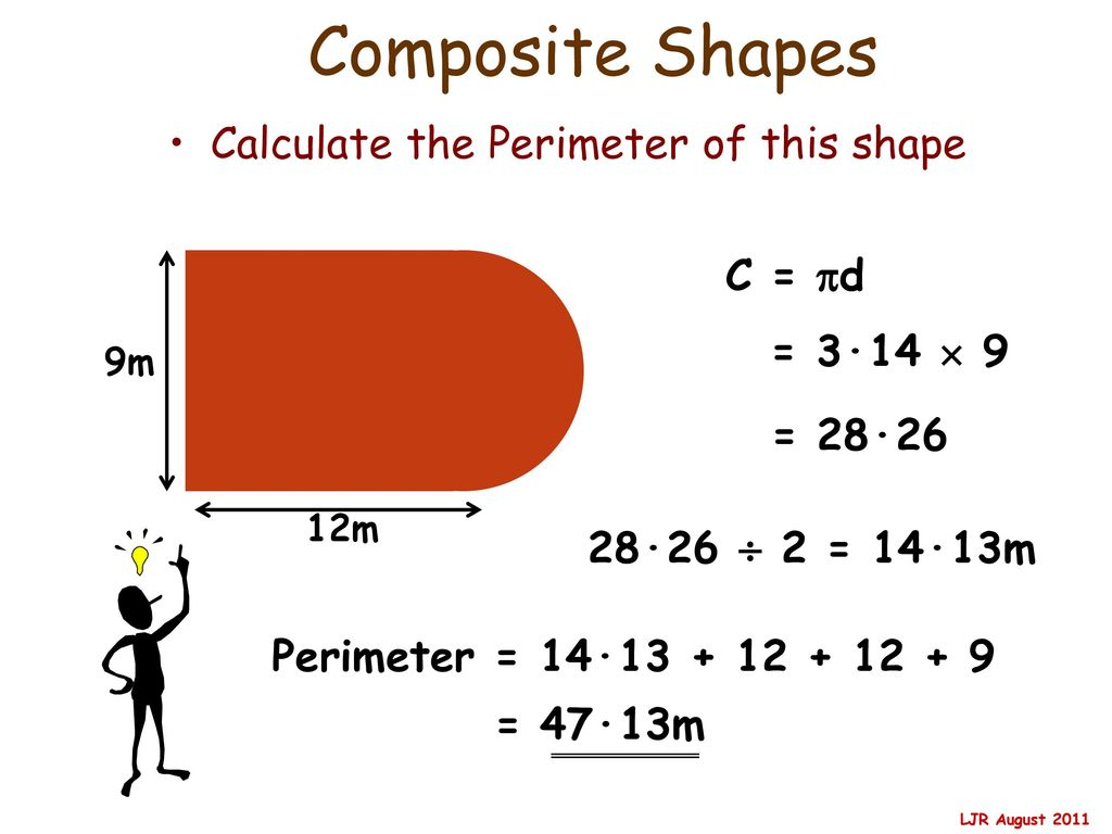 How To Find The Perimeter Of A Composite Shape