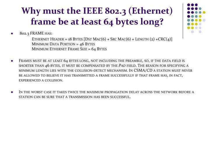 Minimum Ethernet Frame Size 64 Bytes - Frame Design & Reviews ✓