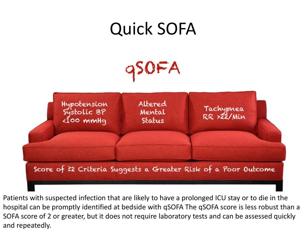 sofa score icu calculator couch or sepsis an update maternal critical care symposium ppt