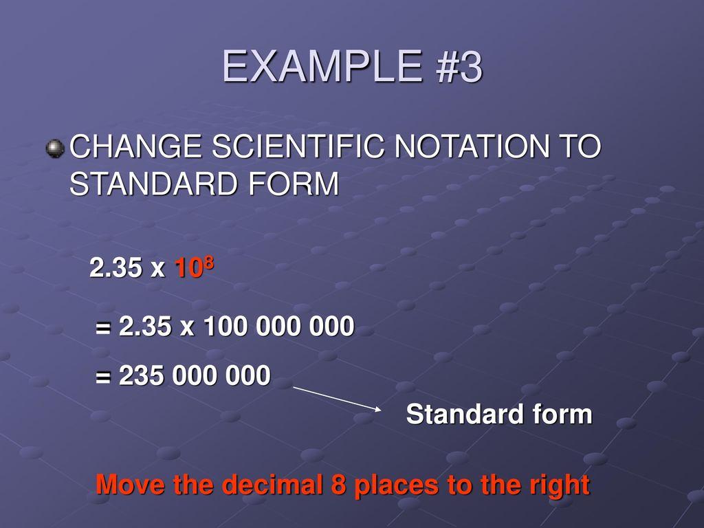 Scientific Notation Lesson Ppt Download