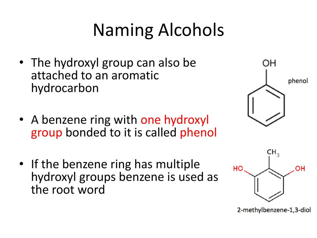 Chapter 1 4 Alcohols Ethers And Thiols