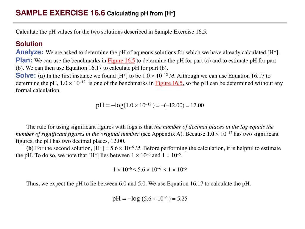 Sample Exercise 16 1 Identifying Conjugate Acids And Bases