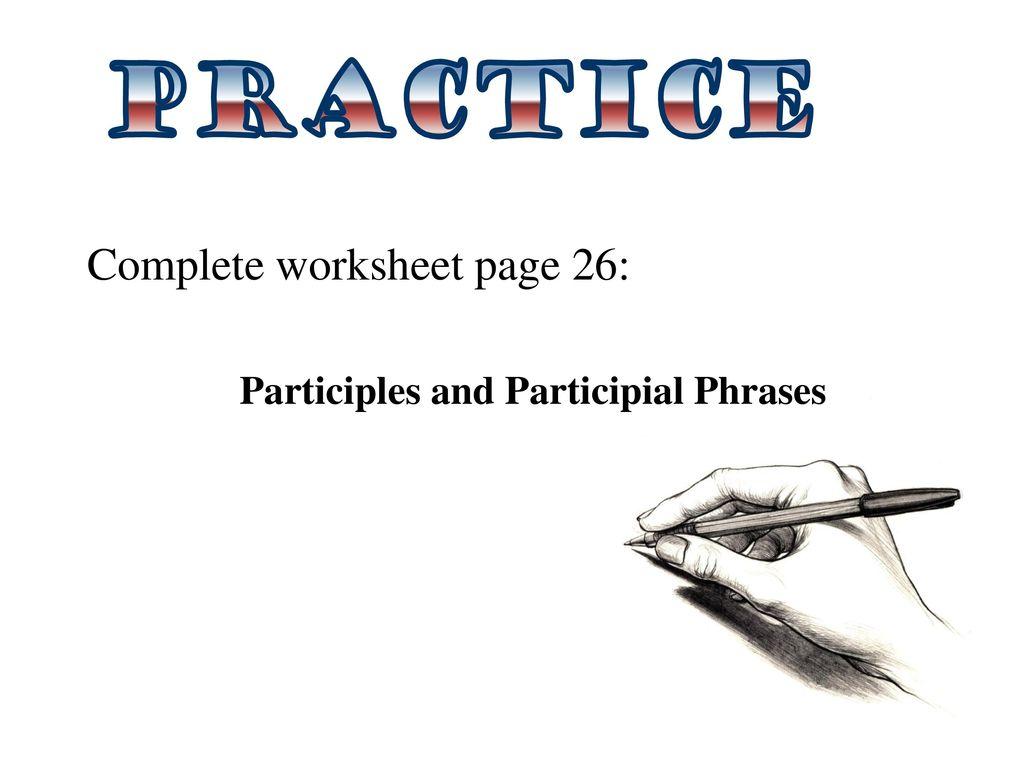 Uncategorized Participial Phrase Worksheet Waytoohuman Free Worksheets For Kids Amp Printables