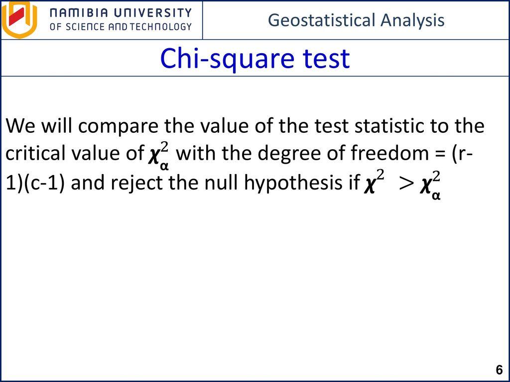 Chi Squ Re Test Ppt Downlo D