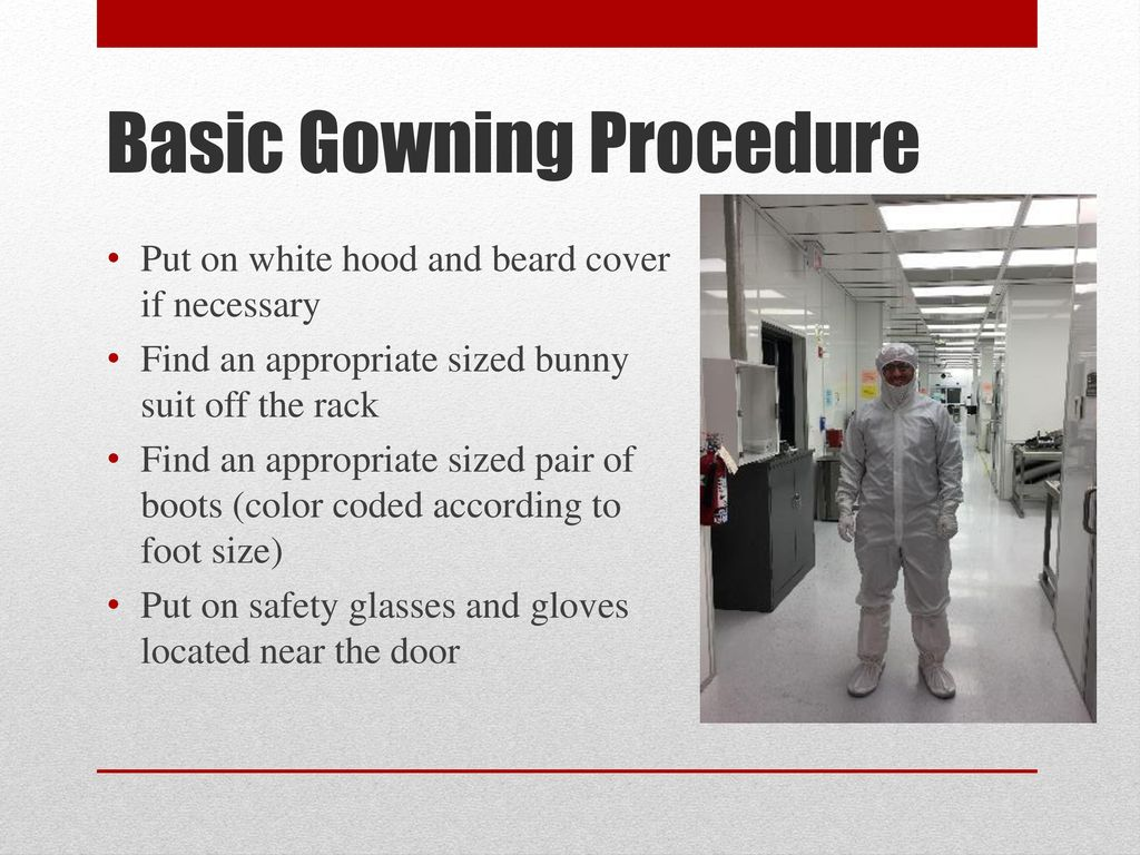 Fine Clean Room Gowning Procedure Collection - Ball Gown Wedding ...
