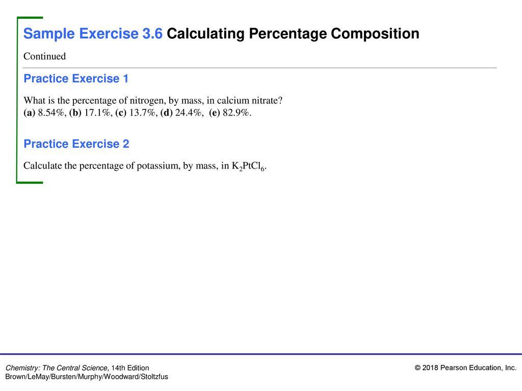 Sample Exercise 3 1 Interpreting And Balancing Chemical Equations