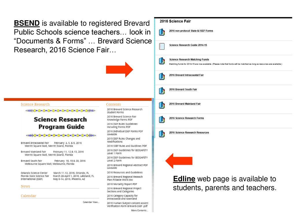 Brevard Regional Science Fairs Ppt Download