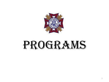 VFW PROGRAMS The Public Face of the VFW. > VFW SCOUTING