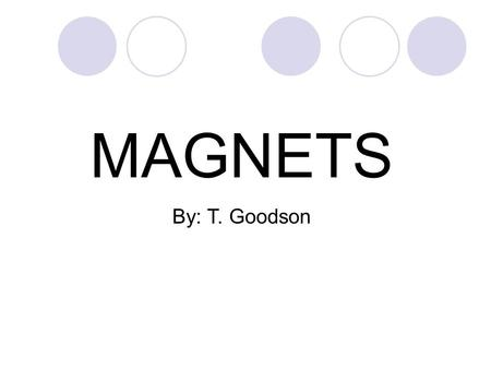 Magnetic Force Interactions of Forces and Motion Teacher