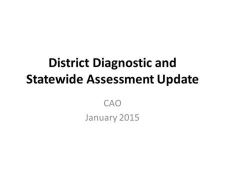 Florida Standards Assessment-FSA Parent Training Virginia