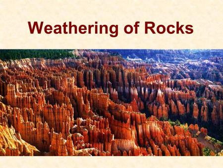 Where are we Earths matter structure Rock forming