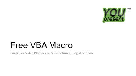 Ribbon-Activated PowerPoint Events Free VBA code from