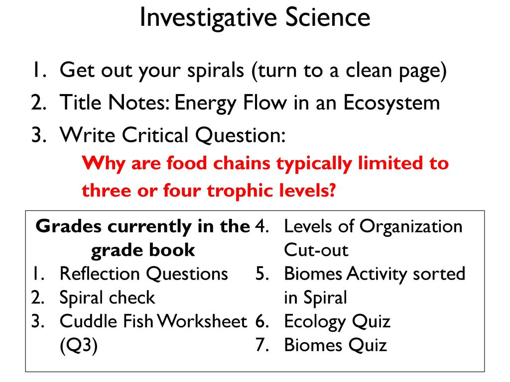 hight resolution of Investigative Science - ppt download