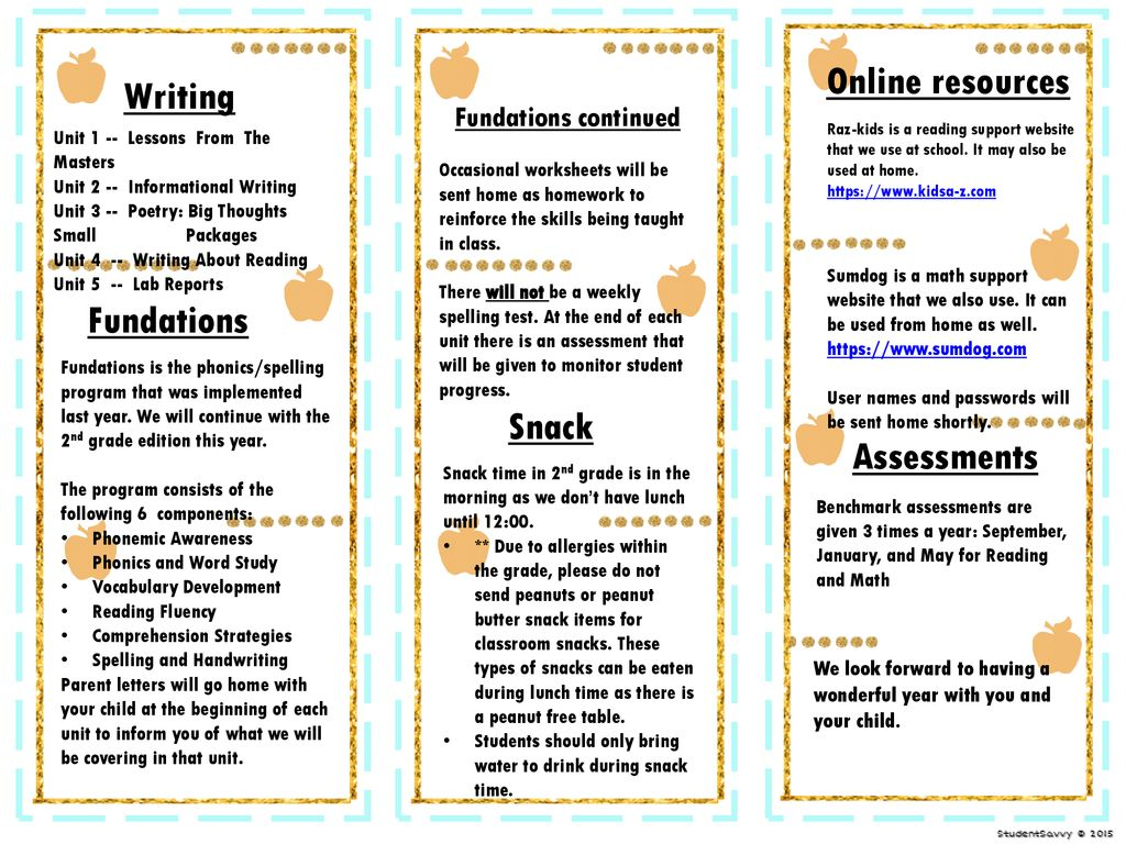hight resolution of Online resources Writing Fundations Snack Assessments - ppt download