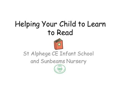 Reading Information Session for parents. Today's session A