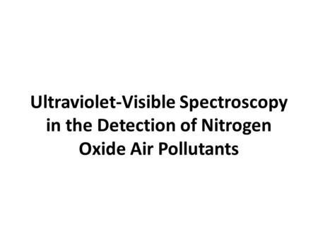 Field Methods of Monitoring Atmospheric Systems