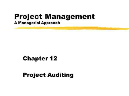 Project Management in Practice Fifth Edition Copyright