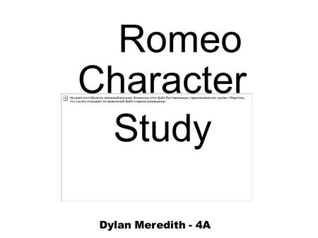 Differences and Similarities between Romeo and Juliet By