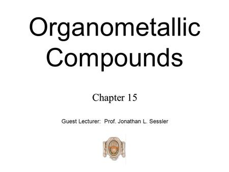 Chapter 11. Alcohols from carbonyl compounds (由羰基化合物制醇