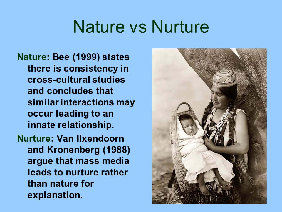 nature vs nurture studies