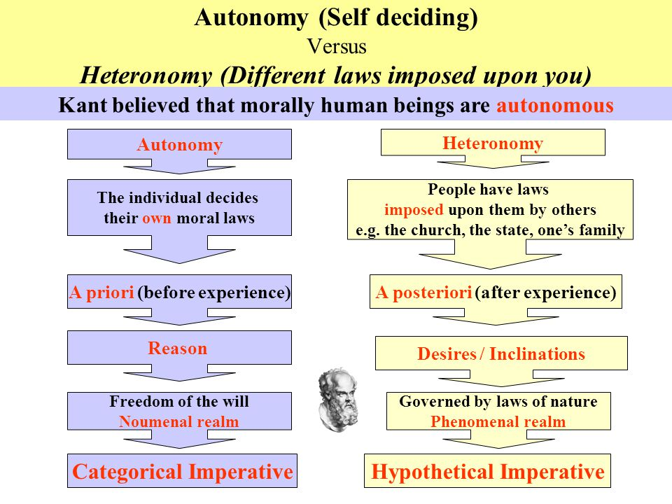 Image result for moral autonomy and heteronomy