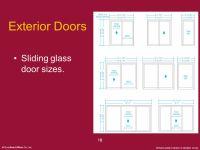 Exterior Sliding Glass Doors Sizes