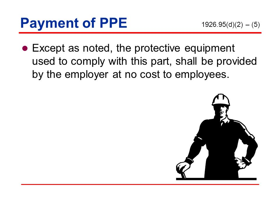 Personal Protective Equipment in the Construction Industry