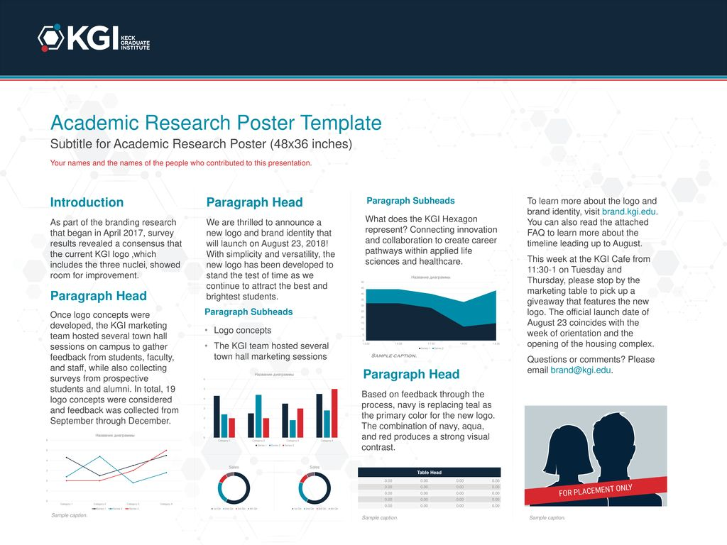 academic research poster template ppt