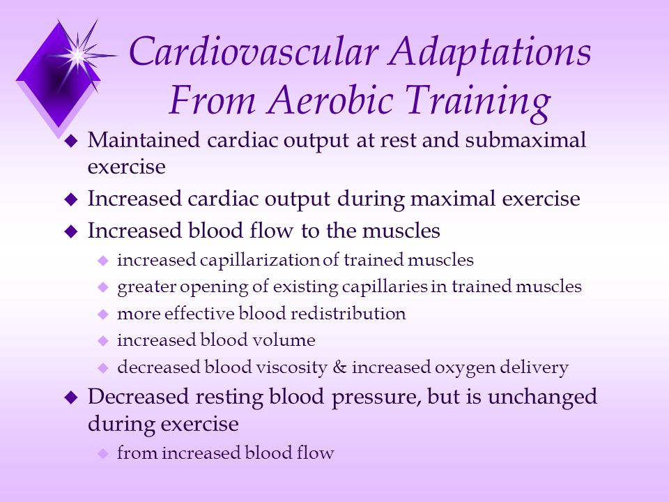 Cardiorespiratory Adaptations to Training  ppt download