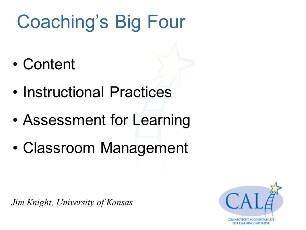 Coaching Effective Teaching Strategies