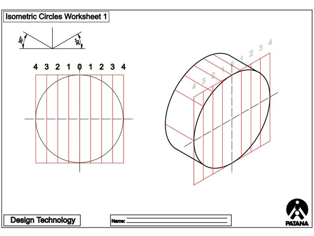 medium resolution of ISOMETRIC CIRCLES AND CYLINDERS - ppt download