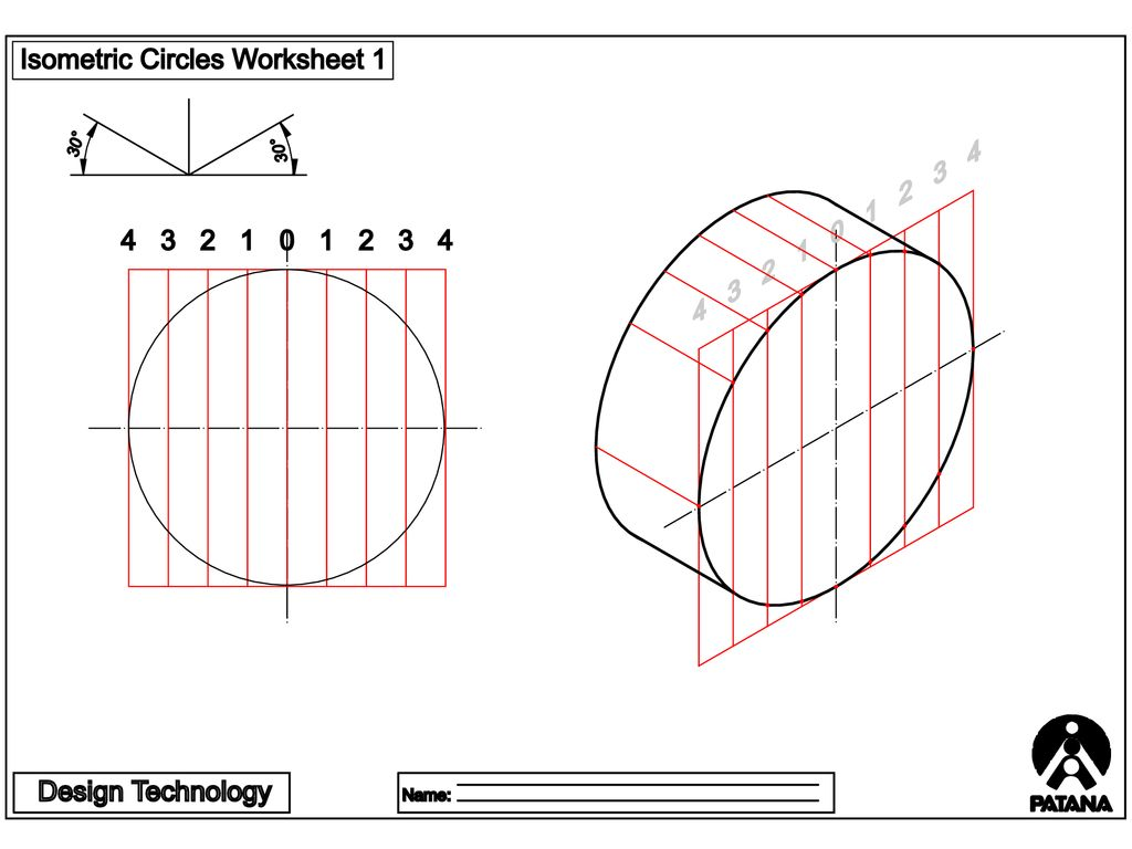 hight resolution of ISOMETRIC CIRCLES AND CYLINDERS - ppt download